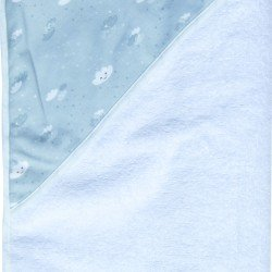 Luma Bathrobe Lovely Sky (nubes) - LU01019