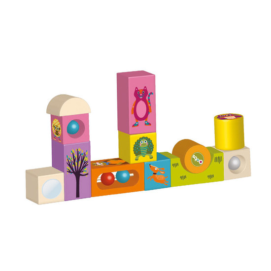 Oops Activity Blocks Forest Animals 11 pcs
