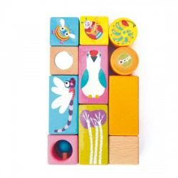 Oops Activity Blocks Insects11 pcs