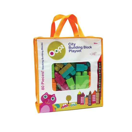 Oops Block Playset L 80 pcs