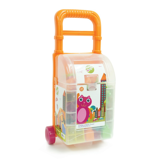 Oops Trolley with Blocks L 23 pcs