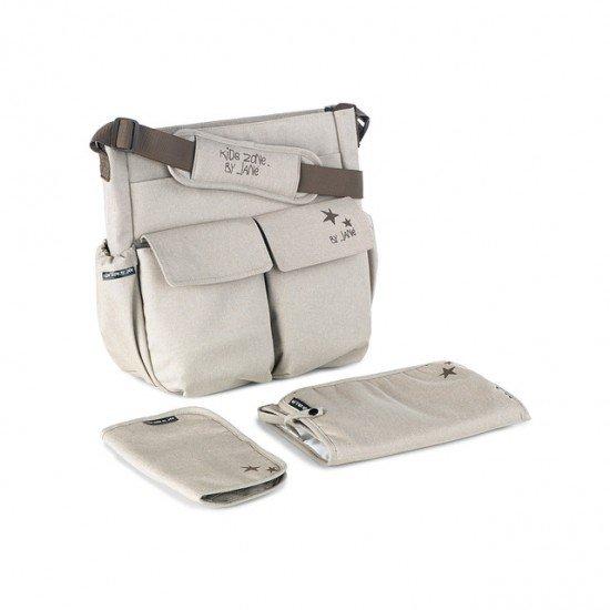 Beige Swapper Bag for Passenger Chair