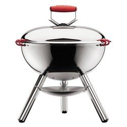 Bodum Fyrkat Charcoal BBQ Grill Stainless Steel