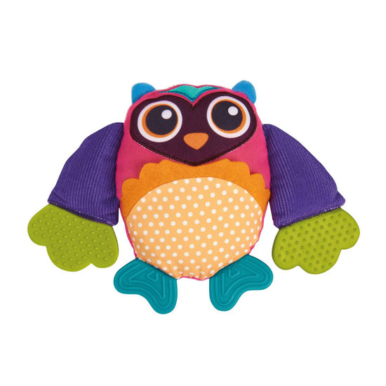 Oops Double Texture Teether Owl