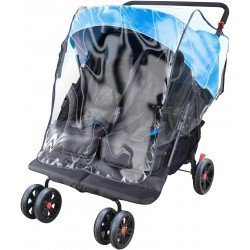 Apramo Rain Bubble - Twin Stroller