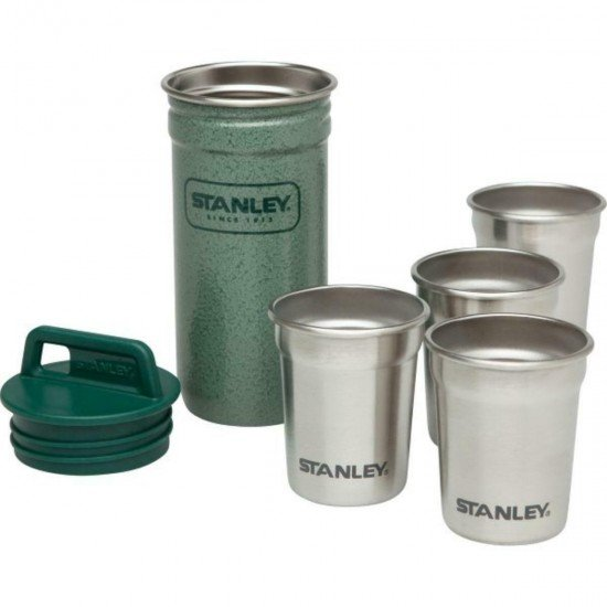 Stanley Set 4 glasses 0,59ml + pot Green