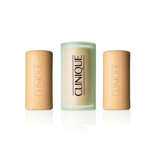 Clinique - 3 Little soaps mild with dish 150 gr