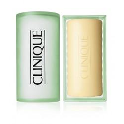 Clinique - Sabonete Clinique Facial Soap Jabon Con Jabonera Piel Mixta 100G