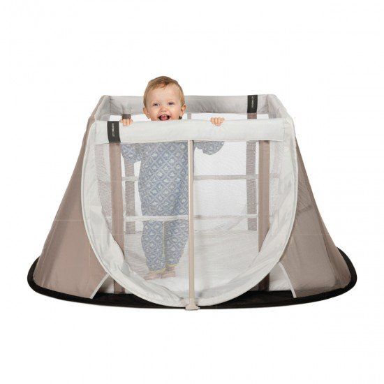 Aerosleep Instant travel cot - sand