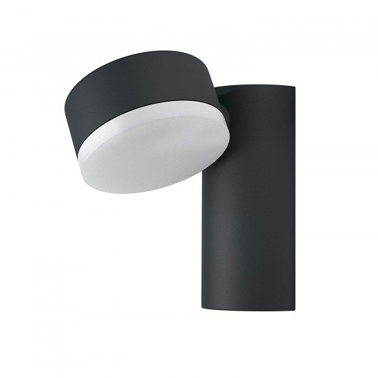 Osram Led outdoor Luminaire / Endura Style Spot RD / Aluminium Body / dark grey / 320 adjustable / 8 Watt / warm white - 3000K