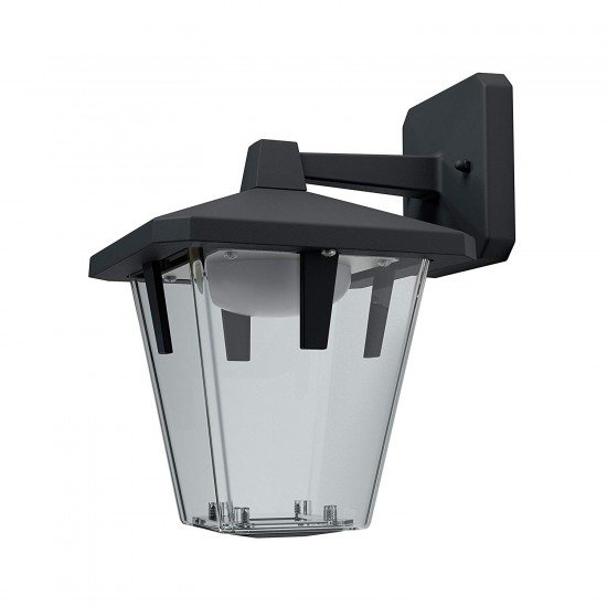 Osram Led wall-outdoor Luminaire Endura Style Lantern Classic Up - Aluminium Body black 10 Watt warm white - 3000K