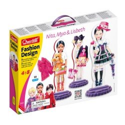 Quercetti Fashion Creations magnetics Combi 58 pieces