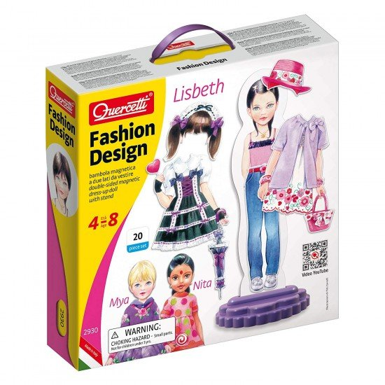 Quercetti Lisbeth Fashion Creations 20 pieces