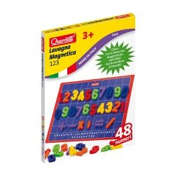 Quercetti Magnetic Board 48 pieces 123