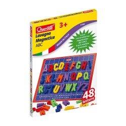 Quercetti Magnetic Board 48 pieces ABC