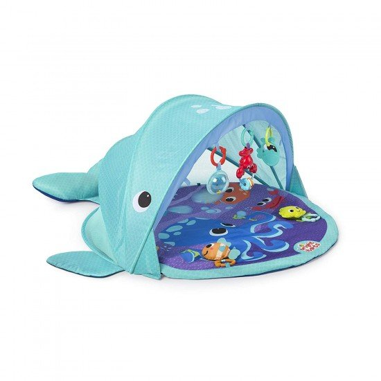 Bright Starts Activity Gym Explore & Go Whale