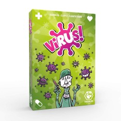 Jogo de Cartas Vírus - O Jogo Mais Contagioso - Tranjis Games
