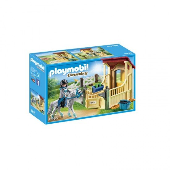 Playmobil Horse Stable with Appaloosa - 6935