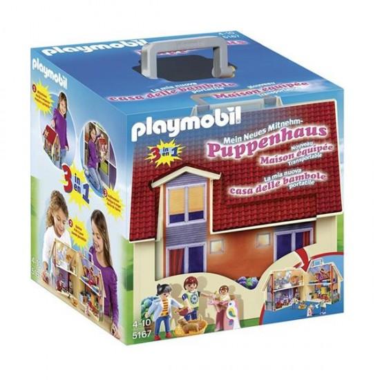 Playmobil Take Along Modern Dolls House - 5167