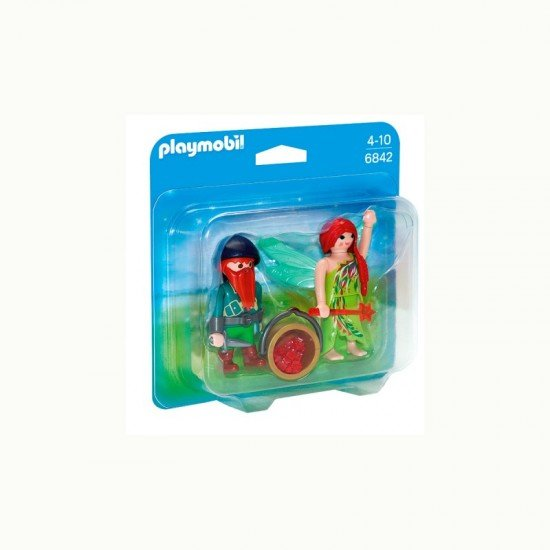 Playmobil Duo Pack Fada e Gnomo - 6842