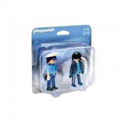 Playmobil Duo Pack Polizist und Langfinger - 9218