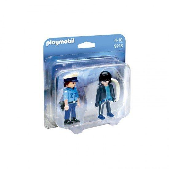 Playmobil Duo Pack Policia e Ladrão - 9218