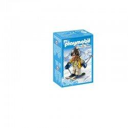 Playmobil Skifahrer mit Snowblades - 9284