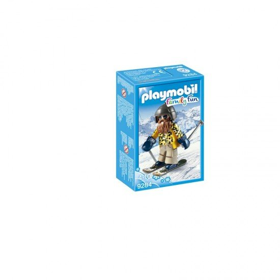 Playmobil Skier with Poles - 9284