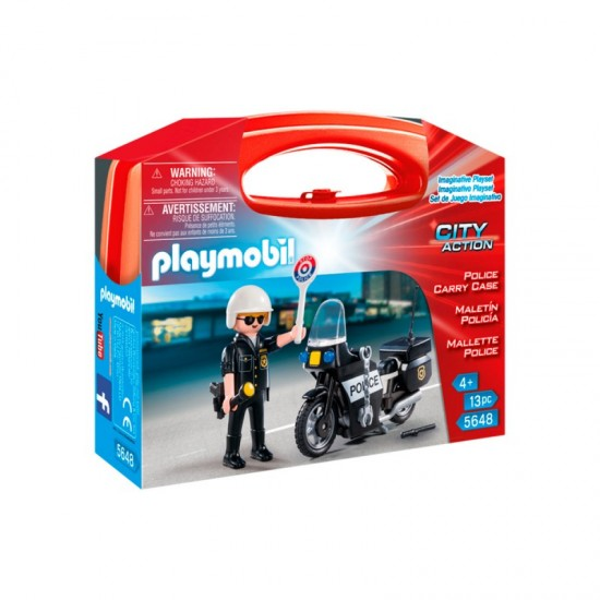 Playmobil Police Carry Case - 5648