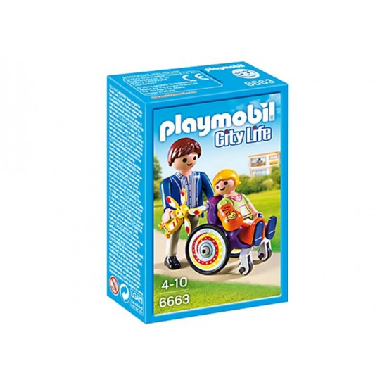 Playmobil Child in Wheelchair - 6663