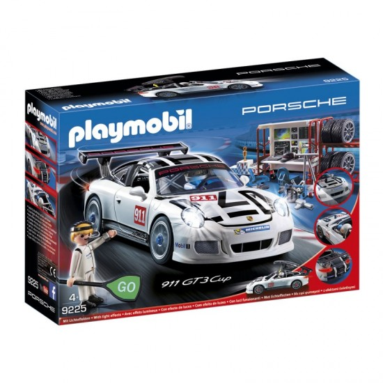 Playmobil Porsche 911 GT3 Cup Racing Command Station - 9225