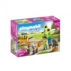 Playmobil City Life Florist Toy Set - 9082