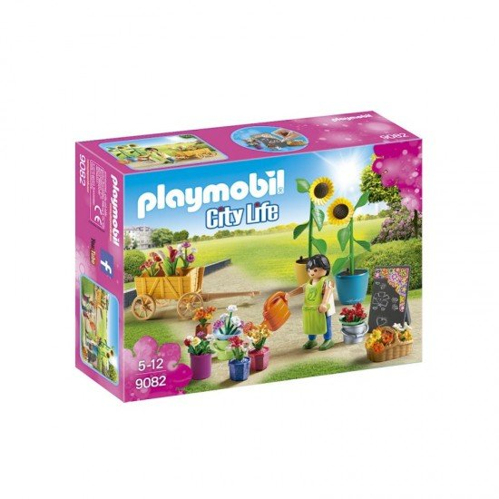 Playmobil City Life Florist Toy Set - 9082