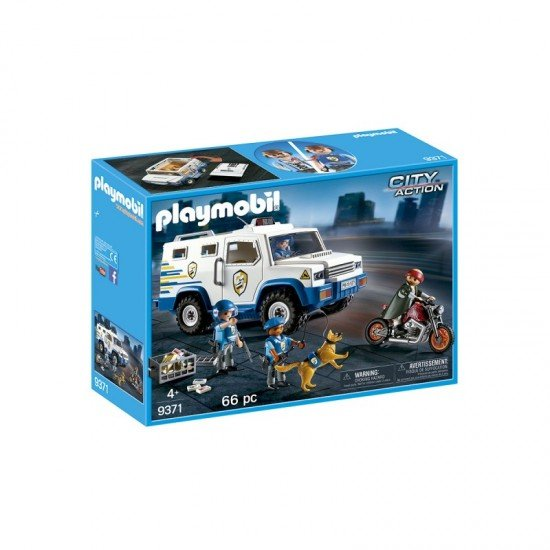 Playmobil Veículo Blindado - 9371