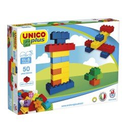 Unico with 50 Construction Blocks