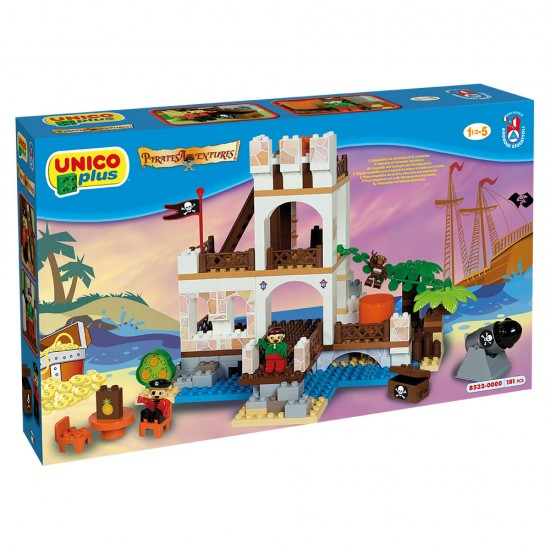 Unico Fortress 181 pieces