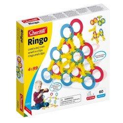 Quercetti Building Game Ringo 60 pieces