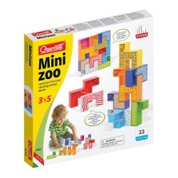 Quercetti MiniZoo Game 22 pieces