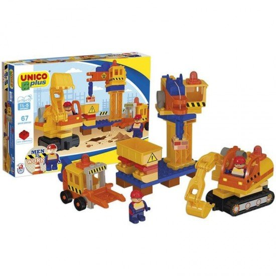 Unico Shipyard Construction Set 67 Pieces