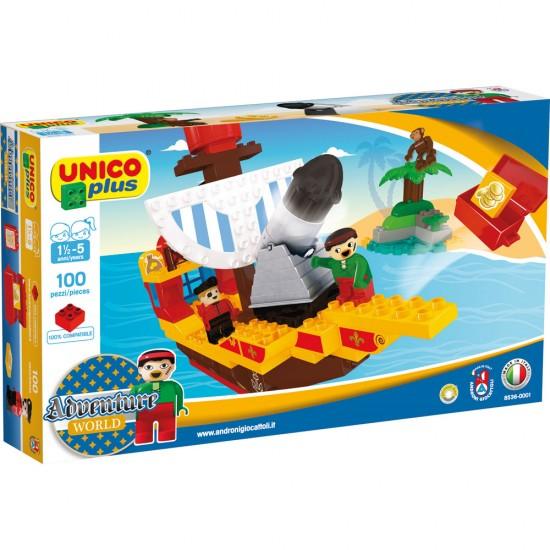 Unico Piratenschiff 100 Stück