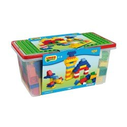 Unico 120 Blocks in Plastic Box