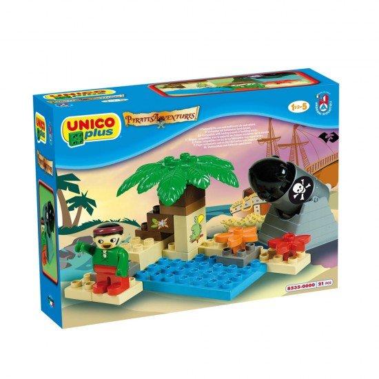 Unico Cañones Piratas 21 Piezas
