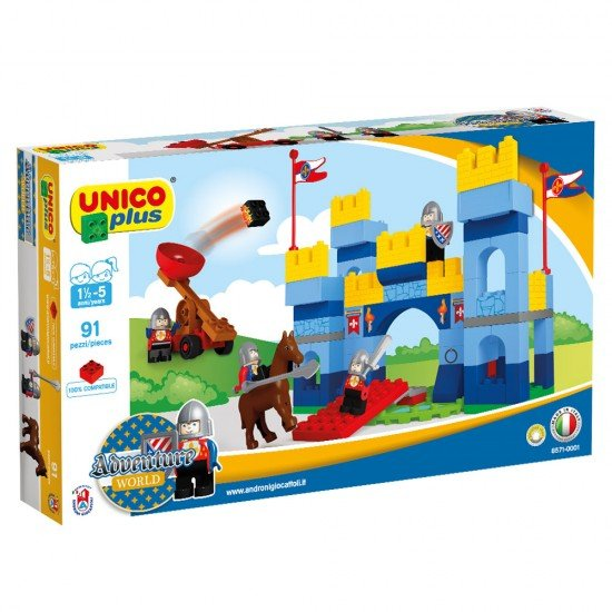 Unico Castelo Medieval Unico 91 peças