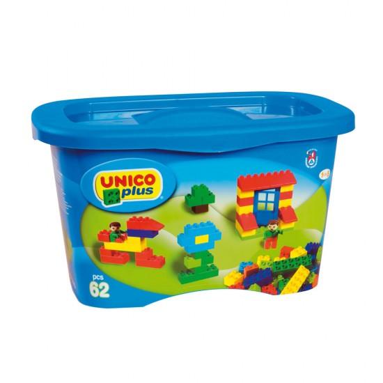 Unico 62 Blöcke in Kunststoffboxen