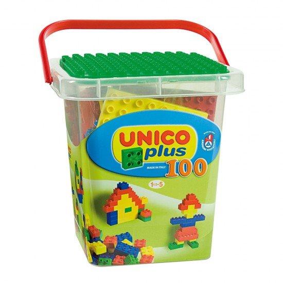 Unico Cubo con 100 Piezas