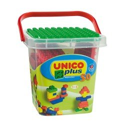 Unico 50 Blocks in Plastic Box