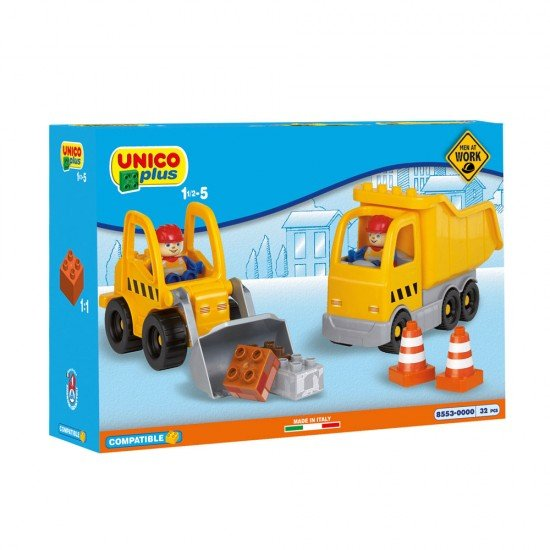 Unico Construction Machines 32 Pieces