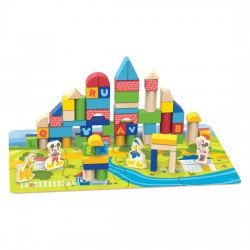 Disney Wood Blocks 92 pieces