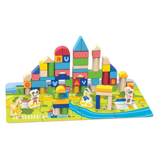 Disney Wood Blocks 92 pieces