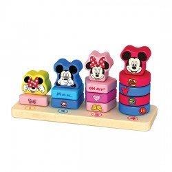 Disney Holz Zählsatzstapler